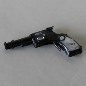 Tin toy gun - collectable and decorative item