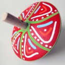 Trompo de madera con mango