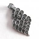 Colgante en filigrana de plata