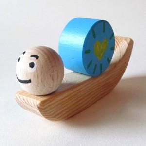 Caracol de madeira