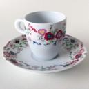 """Lenços dos Namorados"" Coffee Cup"