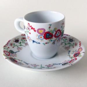 """Taza de Café """"Lenços dos Namorados"""""""