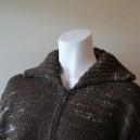 Casaco de lã castanha